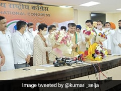 Leaders From BJP, Other Haryana Based Parties Join Congress