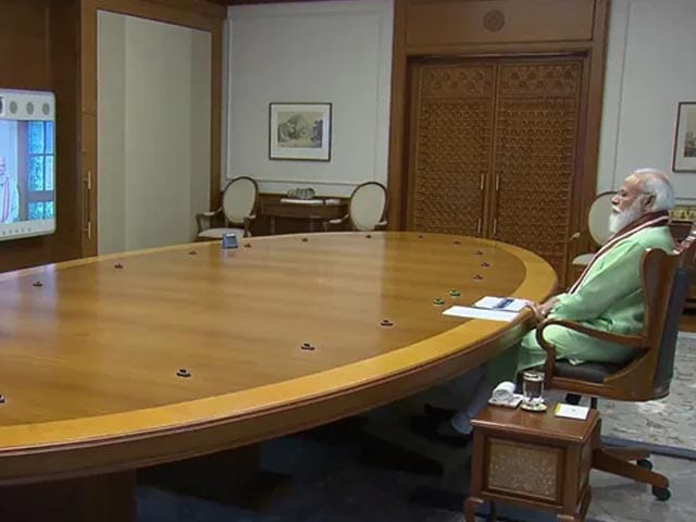 Video : PM Modi Focuses On Genome Sequencing At Meeting To Review Covid Pandemic