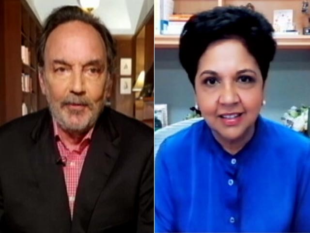 Video : Prannoy Roy Interviews Indra Nooyi, Former PepsiCo Chief, On Her New Book