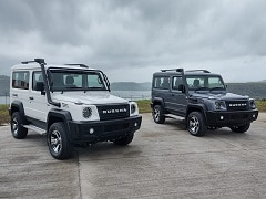 2021 Force Gurkha SUV Unveiled In India