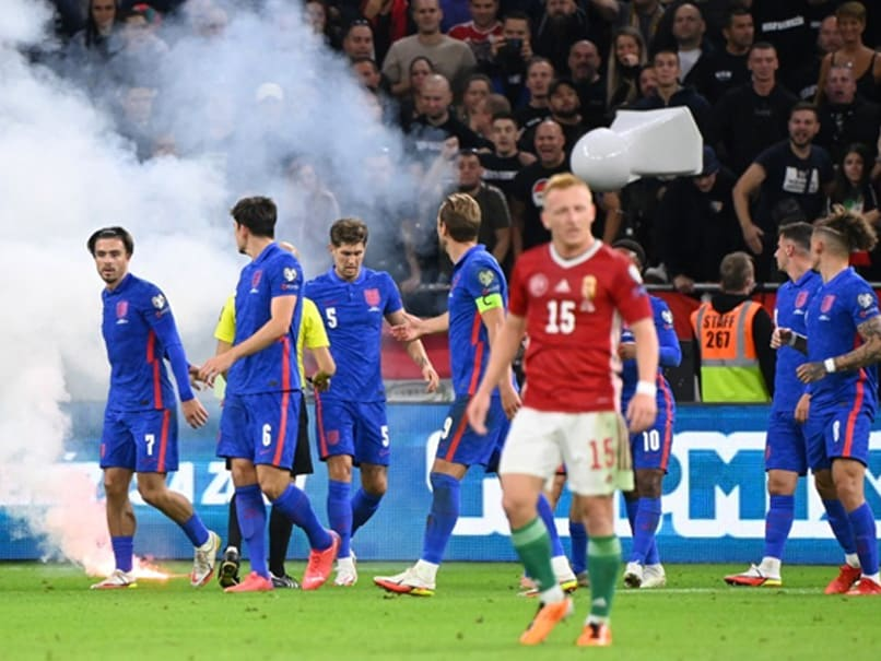 """2022 FIFA World Cup Qualifier: British PM Boris Johnson Slams """"Disgraceful""""  Racist Abuse Of England Players In Hungary   Football News"""