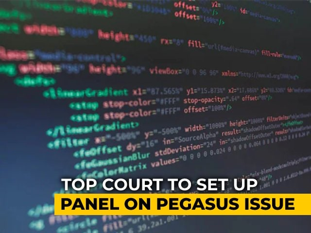 Video : Supreme Court-Appointed Panel To Probe Pegasus Snooping Row