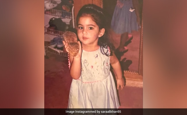 Warning: Throwback To Sara Ali Khan's First Birthday Is Overload Of Cute. Pic Inside