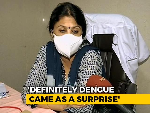 Video : Covid Wards Used For Patients At UP District Hit By Dengue