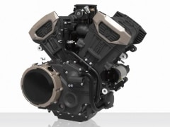 Chinese Motorcycle Brand Benda Unveils Two V4 Engines