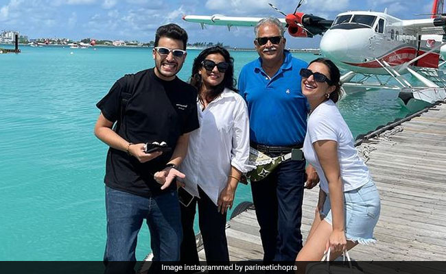 Parineeti Chopra Shares Fam Jam Pic From Maldives. Here's Who She's Missing