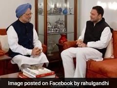 "Rahul Gandhi Wishes ""Fearless"", ""Brilliant"" Manmohan Singh On Birthday"