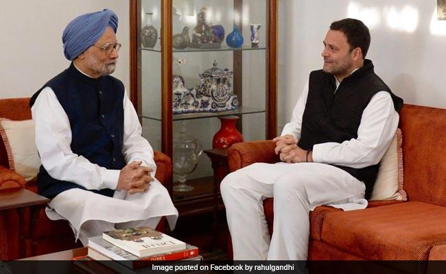 Rahul Gandhi Wishes 'Fearless', 'Brilliant' Manmohan Singh On Birthday
