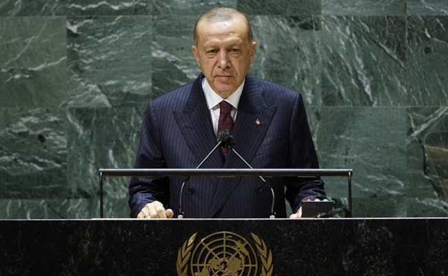 Turkish President Again Makes Reference To Kashmir In UN General Assembly