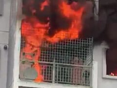 Bengaluru Woman, Mother Die In Apartment Fire. Video Shows Her Trapped
