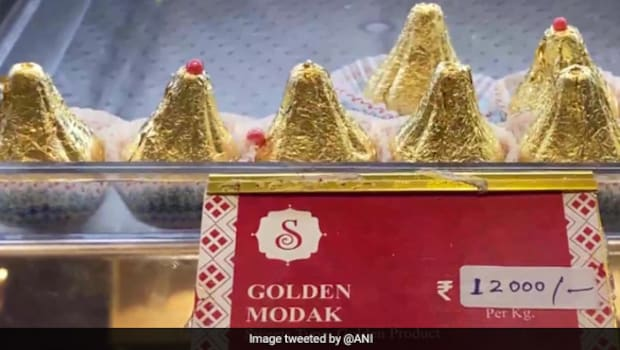 Maharashtra Sweet Shop Sold 'Golden Modak' During Ganesh Chaturthi; Guess The Price