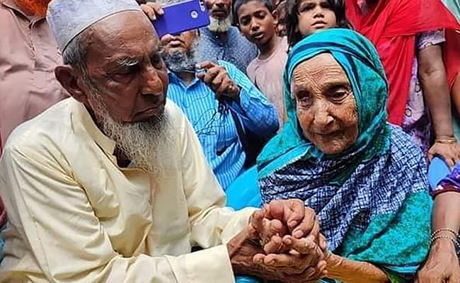 Facebook Video Reunites Bangladesh Man, 82, With Mother After 70 Years