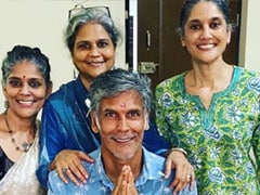 """Meet Milind Soman's Sisters. See Pics From The """"Only Festival"""" He Celebrates"""