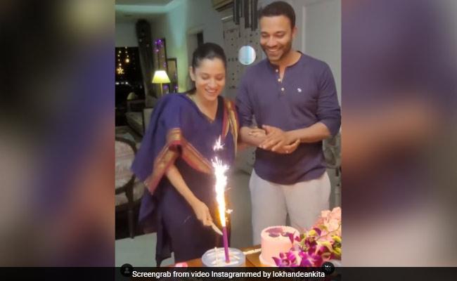 How Ankita Lokhande And Boyfriend Vicky Jain Celebrated Pavitra Rishta Release