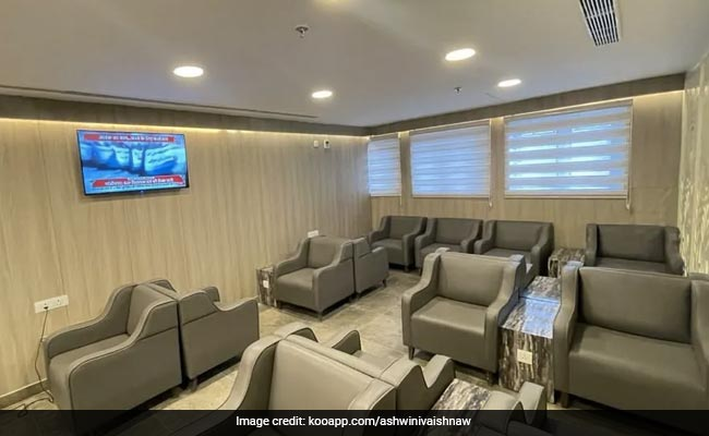 Delhi's Railway Station Gets Swanky Lounge With Recliners, WiFi. See Pics