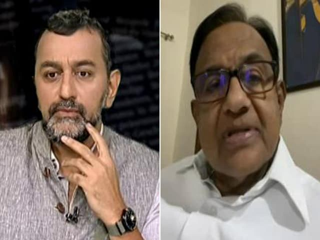 Video : Watch: Centre Didn't Boost Expenditure, P Chidambaram Tells NDTV