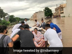 1 Body Recovered In Rajkot Amid Gujarat Floods, Search Underway For 2nd: Navy