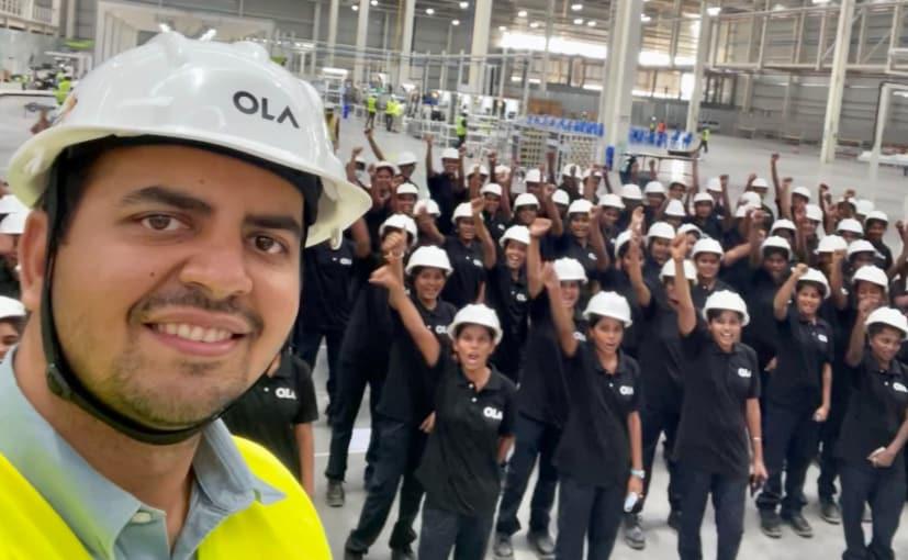 Ola Electric Futurefactory To Be Run By 10,000 Women - Fun 2 Jun