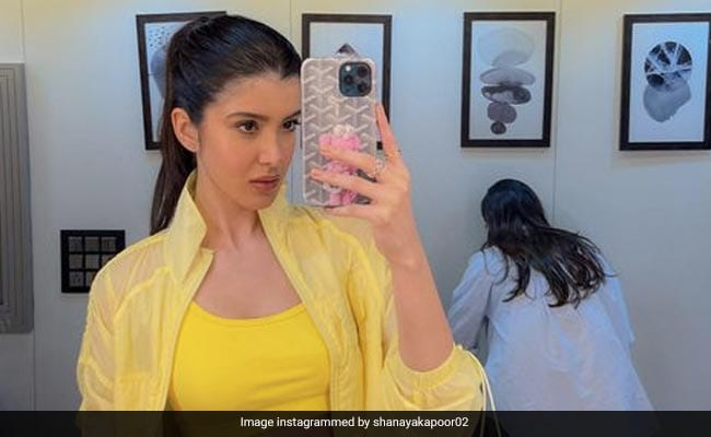 Shanaya Kapoor's Weekend Post Just Brightened Up Our Day