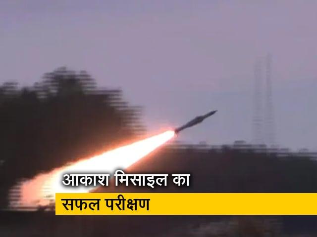 Video : आकाश प्राइम का कामयाब परीक्षण, ओडिशा के चांदीपुर से छोड़ी गई मिसाइल