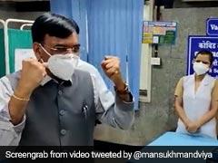 98 Crore Covid Vaccine Doses Done: Health Minister Mansukh Mandaviya