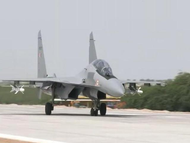 """Video : """"Given A Message"""": Rajnath Singh On Emergency Landing Strip Near Border"""