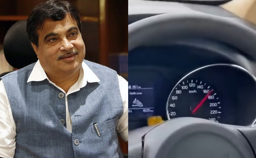 The Union Minister Nitin Gadkari did a personal inspection of the upcoming Delhi-Mumbai Expressway