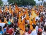 Video : Protest Against Demolition Of Temple In Mysuru