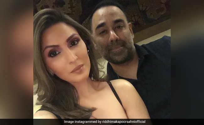 Riddhima Kapoor Goes All Out In Birthday Post For 'Rockstar' Husband Bharat Sahni. His Reaction