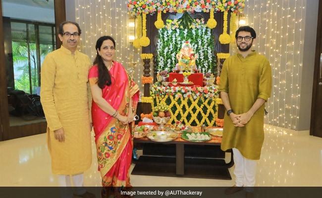 Uddhav Thackeray Prays For Destruction Of ''Evil'' Virus As Ganesh Fest Begins
