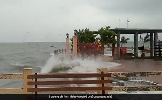 Cyclone Gulab Reaches Andhra Pradesh, Odisha, Winds Up To 100 Kmph