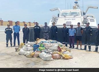 Sea Cucumber Worth INR 8 Crore Seized In Tamil Nadu's Mandapam