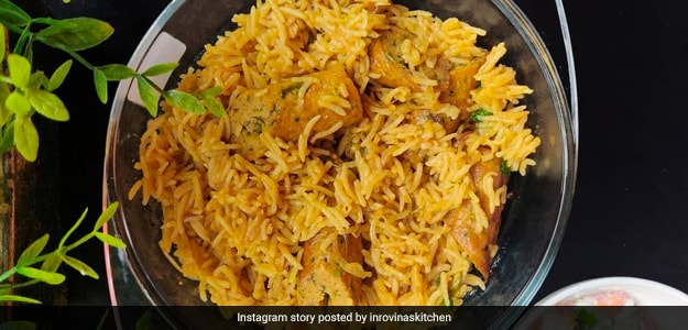 Chicken Seekh Kabab Pulao