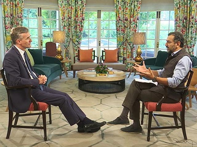 """Video : """"Let In Jasprit Bumrah To Humiliate Us In Oval"""": UK Envoy To NDTV"""