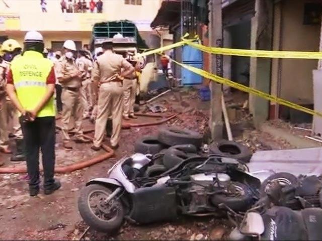 Video : 3 Killed, 4 Injured In Blast At Bengaluru Godown, Cause Being Probed