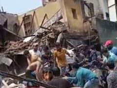 Building Collapses In Delhi's Sabzi Mandi Area, Rescue Ops Underway