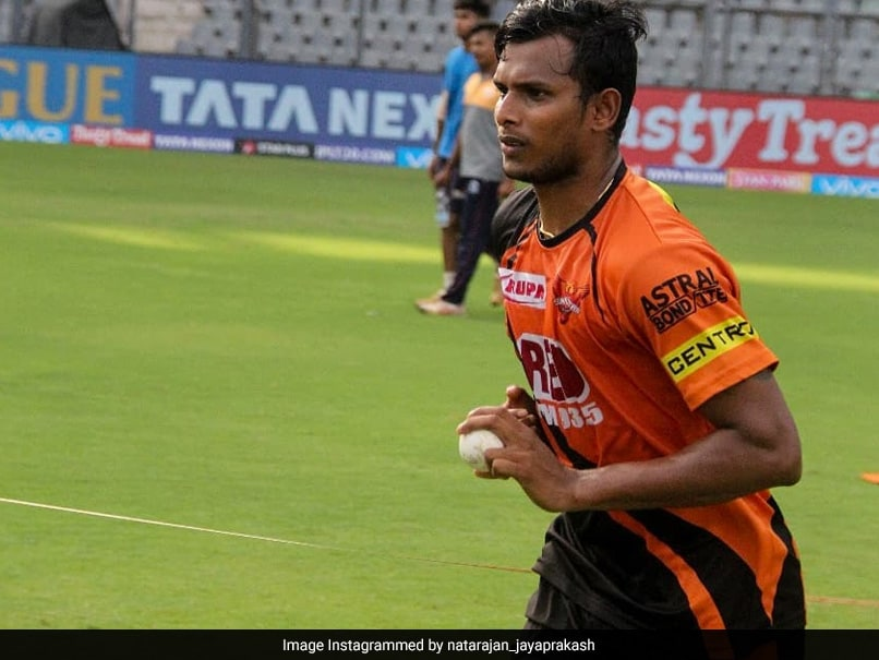T Natarajans Positive COVID-19 Test Didnt Impact Game, Says SunRisers Hyderabad Coach