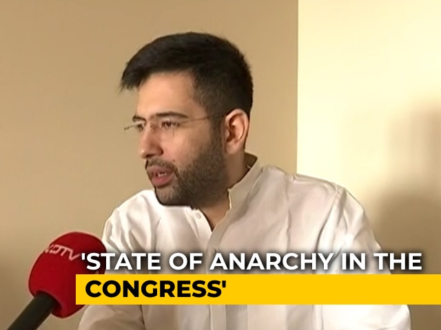 Video : 'Game Of Thrones Being Played Within Congress Factions': AAP's Raghav Chadha