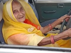 """Madhya Pradesh Woman, 90, Learns To Drive, """"Inspired"""", Says Chief Minister"""