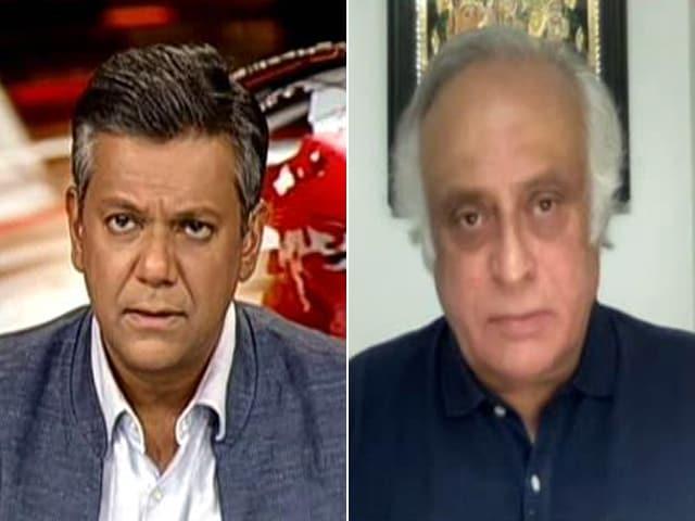 """Video : """"Personalised Attack On Narayana Murthy"""": Jairam Ramesh On 'RSS' Article"""
