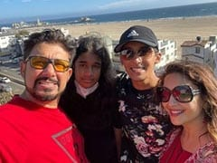 """Need """"Travel Therapy""""? Madhuri's Pics With Family Have Got You Covered"""
