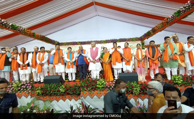 A New-Look Gujarat BJP Ministry Dominated By First-Timers