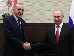 """Next Time You Get Vaccinated Again (Use) Sputnik"": Vladimir Putin To Turkish President"