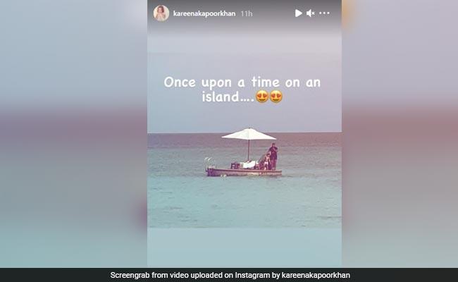 'Once Upon A Time On An Island,' Saif Ali Khan, Taimur And Kareena Kapoor Made Memories Like This