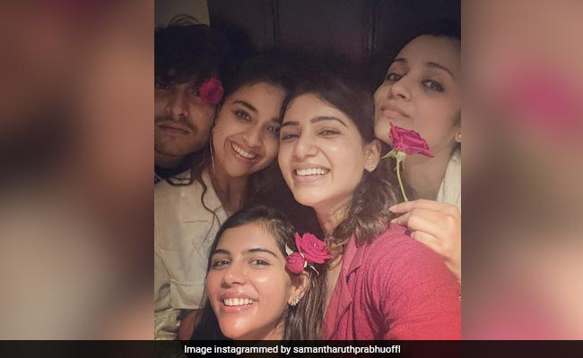 Samantha Ruth Prabhu, Trisha And Keerthy Suresh In A Pic. Enough Said