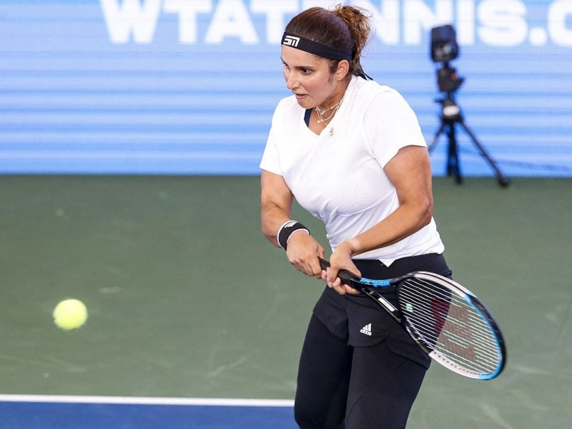 US Open: Sania Mirza, Coco Vandeweghe Bow Out In Womens Doubles 1st Round