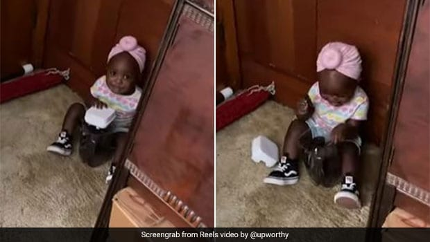 Watch: Dad Catches Daughter Stealing Cookie Jar, Her Reaction Is Too Cute To Miss