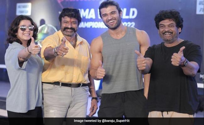 Liger: Telugu Superstar Nandamuri Balakrishna Visits Vijay Deverakonda And Team On Set In Goa
