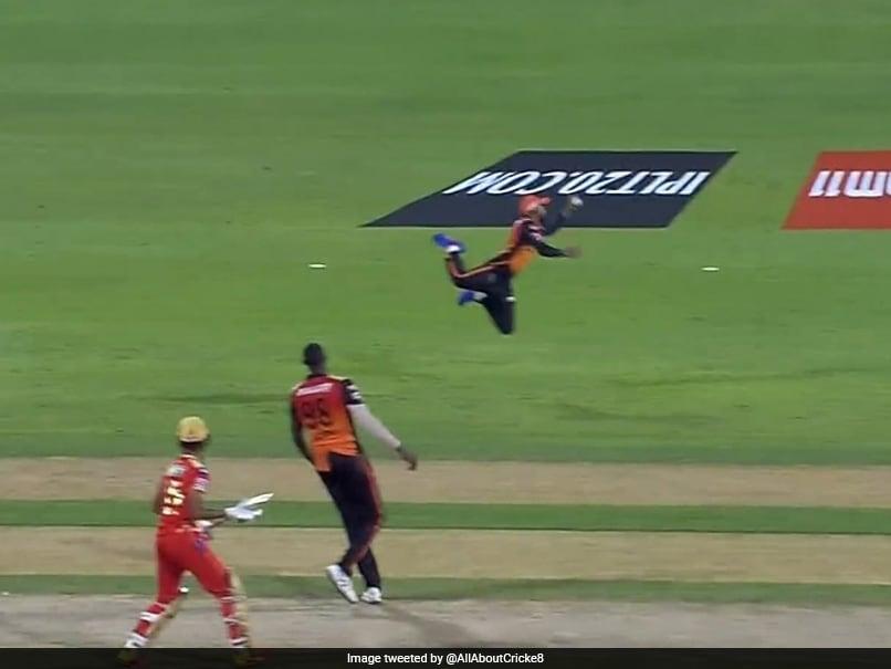 "Watch: Jagadeesha Suchith Takes ""Sensational One-Handed Catch"" To Dismiss Deepak Hooda"
