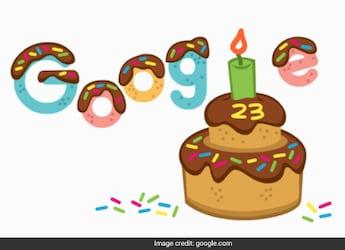 Google Celebrates 23rd Birthday With Animated Chocolate Cake Doodle